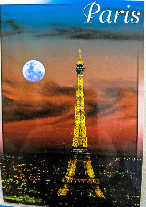 Postcards to Nowhere: Eiffel Tower, Paris, France - And