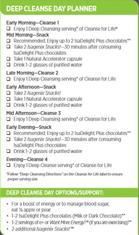 Review: What is Isagenix 9 Day Cleanse? - NutriInspector