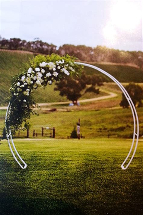 Round Wedding Arch - Beyond Expectations Weddings & Events