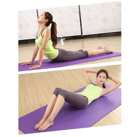 Best Selling 72 * 24 Inches Yoga Mat Non-Slip 10mm