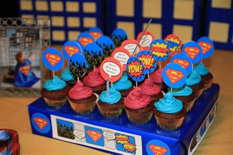 Superman First Birthday Party   Mommy Connections