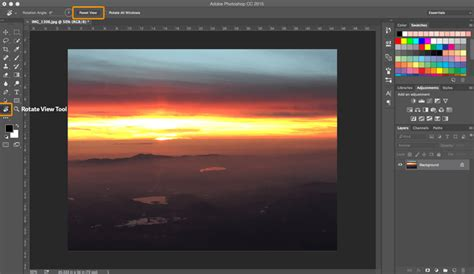 Photoshop Tips and Tricks; Rotate View Tool | SkillForge