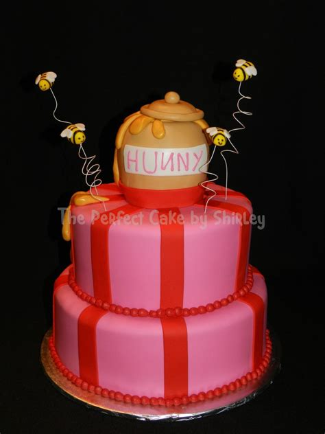 Winnie The Pooh Hunny Pot Cake - CakeCentral