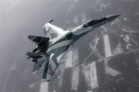 su35 1 Sukhoi Su-35 Flanker-E Russian Air Force - Flying