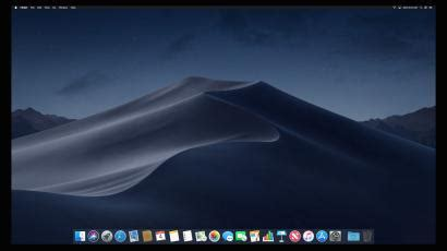 """Apple's macOS Mojave: How to turn on """"dark mode"""" for every"""