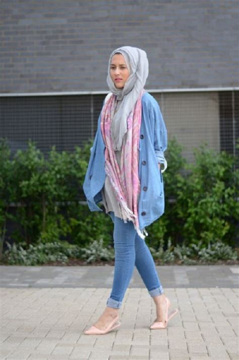 Latest Casual Hijab Styles with Jeans 2018-2019 Trends & Looks