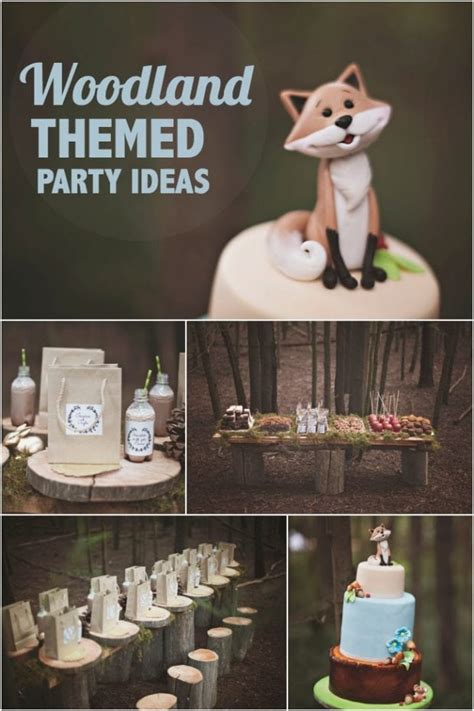 Woodland Forest Boy/Girl Sibling Party - Spaceships and