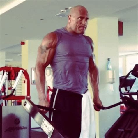 16 Beast Mode Moments From The Rock's Monster Workouts!