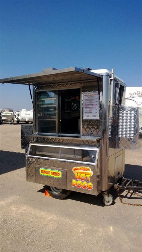 ***Enclosed Mobile Kitchen Hot Dog Cart Catering
