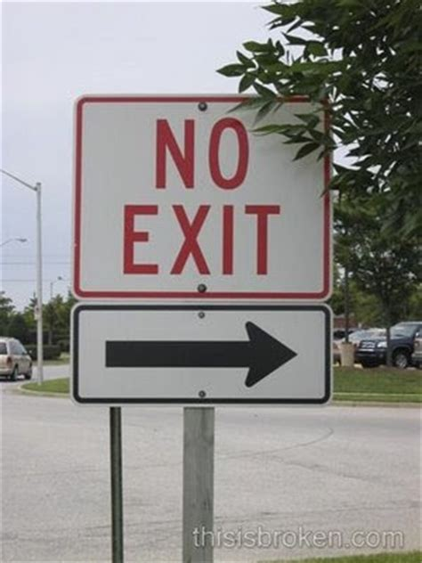 Just LoL: Confusing Road Signs
