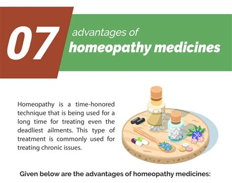 Infographic: 7 Advantages of Homeopathy Medicines