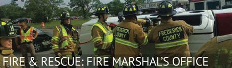Fire Marshal's Office   Frederick County
