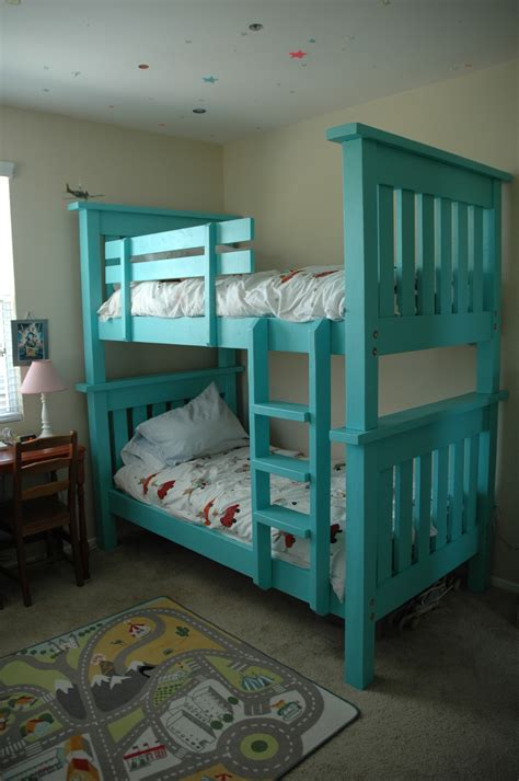 Ana White   Bunk Bed from Simple Bed, modified - DIY Projects