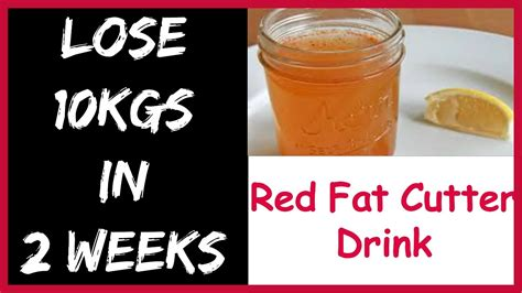 Natural Homemade Drink To Lose Weight FAST 10kg in 2 Weeks