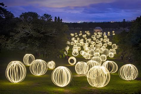 Peter Solness, Sharing Light in a Field Of Orbs