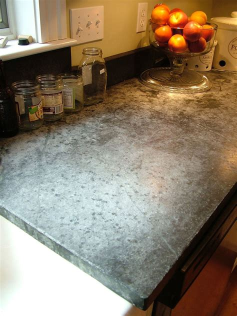 Soapstone countertops show their age, for better or worse