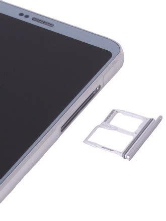 How to insert a SIM card into my LG G6