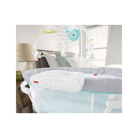 Fisher Price DPV71 Soothing Motions Swaying Baby Bassinet