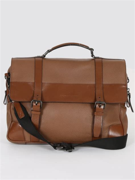 Burberry - Brown Leather Briefcase   Luxury Bags