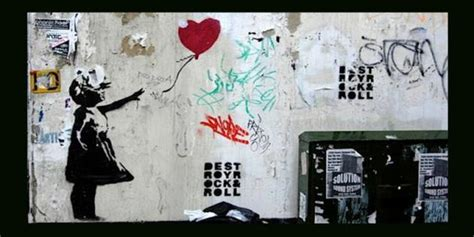 Banksy Girl With Red Balloon Removed From Liverpool Street