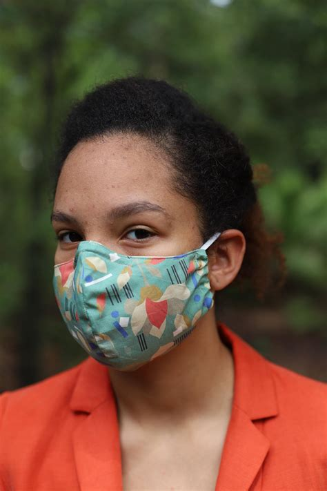 Patterned-Face-Mask-with-Nasal-Support - Walyou