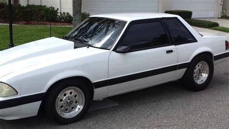 My 91 Mustang Foxbody For Sale Idle - YouTube