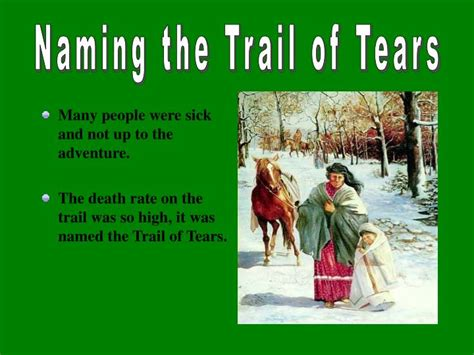 PPT - The Trail of Tears PowerPoint Presentation - ID:5589692