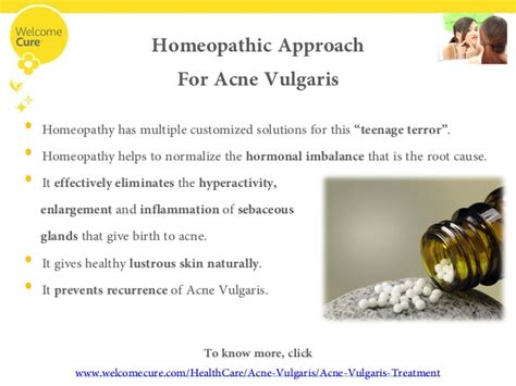 What Is Acne Vulgaris And A Glimpse Into Homeopathic
