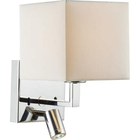 Modern Over Bed Reading Wall Lights with Integral LED
