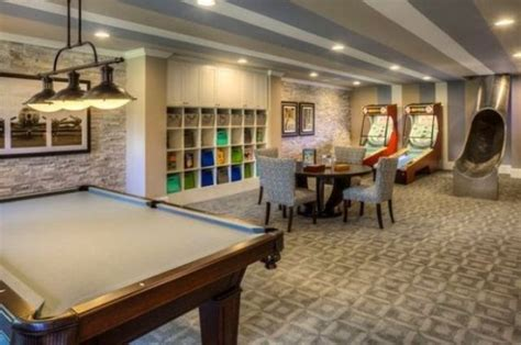 Creating A Basement Game Room: 4 Tips And 41 Examples