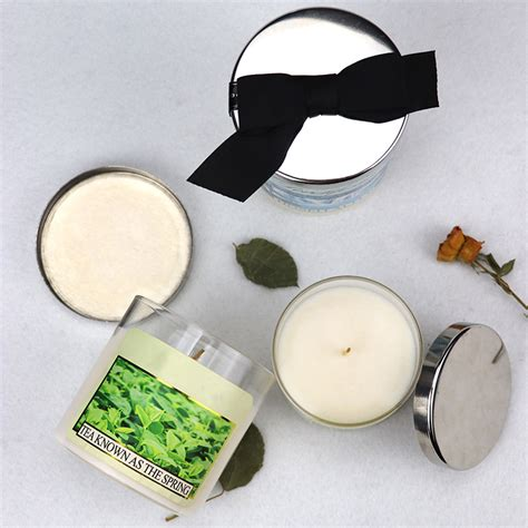 Wholesale hand poured scented soy candles with private