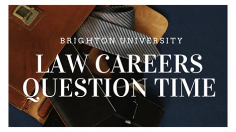 Law Careers Question Time: LCQT 2018 | Brighton University