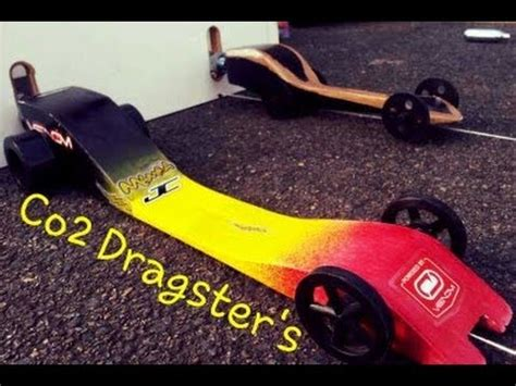 CRAZY FAST - GHS Co2 Powered Dragster's, Design's and