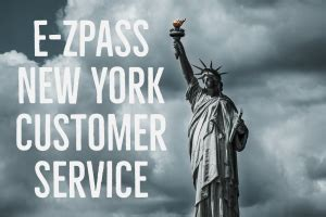 EZ Pass NY Customer Service Details for New York