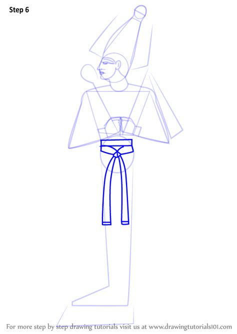 Learn How to Draw Osiris (Egyptian Gods) Step by Step