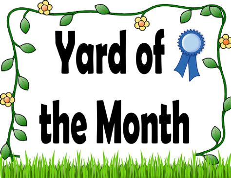 Yard of the Month | Town of Troy Indiana