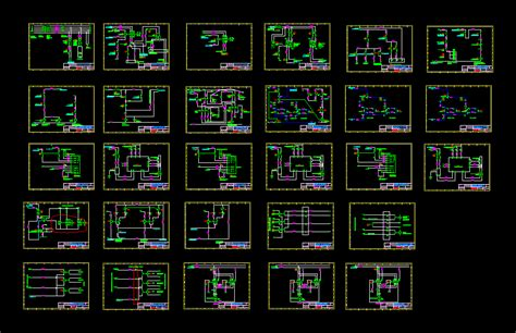 Electrical Drawings DWG Block for AutoCAD • Designs CAD