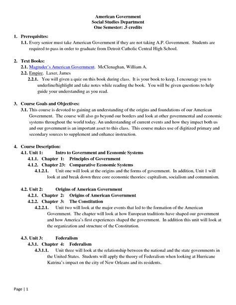 14 Best Images of American Government Answer Key