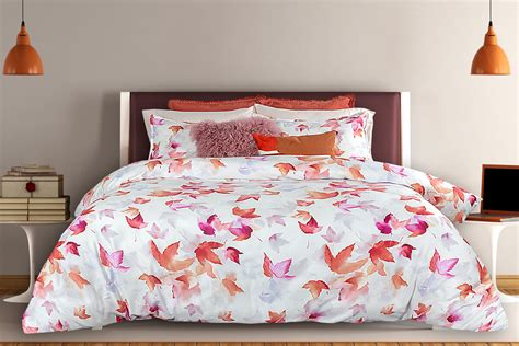 Autumn Bedding by Alamode • Heirloom Linens • Canadian
