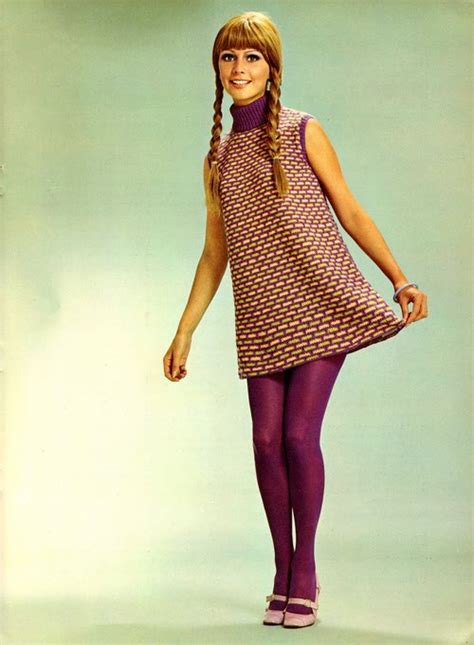 Technicolor Stocking Ads in the 1960s and 1970s ~ Vintage