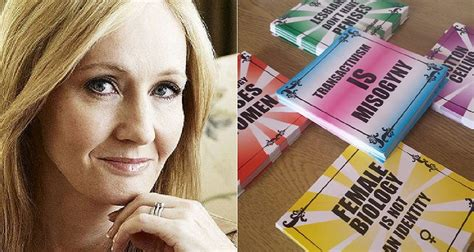 JK Rowling promotes t-shirt from anti-trans shop on